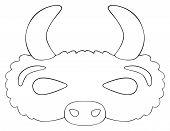 picture of prairie  - Mask of Prairie - JPG