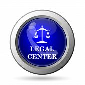 picture of judiciary  - Legal center icon - JPG