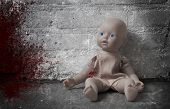 picture of child abuse  - Concept of child abuse  - JPG