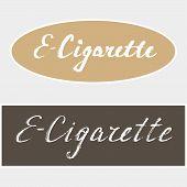 pic of e-cigarettes  - E - JPG