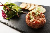 pic of tartar  - beef tartar - JPG