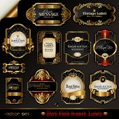stock photo of gold  - vector set - JPG