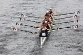 BOSTON - OCTOBER 23: Eton College youth men's Eights races