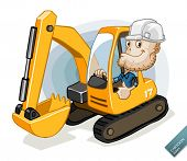 picture of grub  - Excavator with Labor - JPG