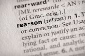Dictionary Series - Philosophy: Reason