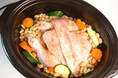 Fresh Chicken In Slow Cooker poster
