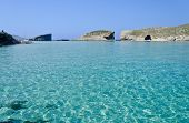 Clear Blue Seas In Comino