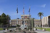 image of mandates  - The Arizona State Capitol in Phoenix - JPG