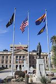 stock photo of mandates  - Arizona State Capitol in Phoenix - JPG
