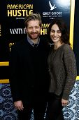 NEW YORK-DEC 8: Actors Paul Sparks and wife Annie Parisse attend the