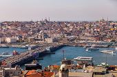 stock photo of constantinople  - ISTANBUL TURKEY APRIL 28 - JPG