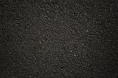 pic of tar  - old dark grunge asphalt background surface texture - JPG