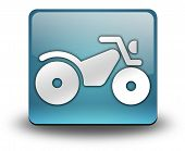 picture of four-wheeler  - Image Graphic Icon Button Pictogram with ATV symbol - JPG