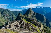 stock photo of andes  - Machu Picchu - JPG