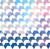image of parallelepiped  - Pattern of geometric shapes - JPG