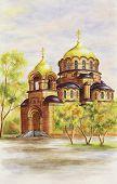 pic of novosibirsk  - Illustration - JPG