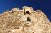 stock photo of macedonia  - Famous Trigonion Tower in Thessaloniki - JPG