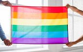 stock photo of gay symbol  - people - JPG