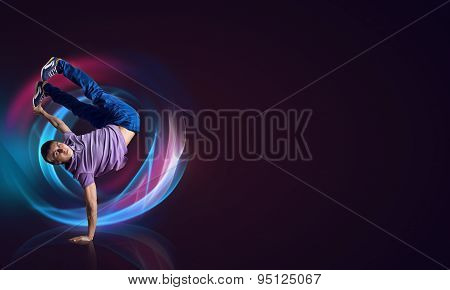 Hip Hop Dancer Poster