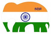 image of indian independence day  - Indian Independence Day background with  wheel - JPG