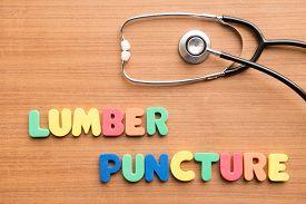 picture of lp  - Lumbar puncture  - JPG