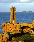 image of por  - Pors Kamor lighthouse - JPG