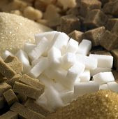 stock photo of sugar cube  - sugar still life - JPG