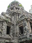 picture of mahabharata  - Detail of khmer architecture  - JPG