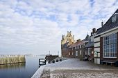 picture of veer  - The picturesque town of Veere - JPG