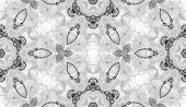 Black And White Seamless Pattern. Amusing Delicate Soap Bubbles. Lace Hand Drawn Textile Ornament. K poster
