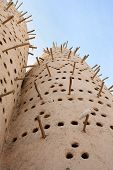 A traditional Arabian pigeon house, or dovecote, at the Katara traditional village in West Bay, Doha