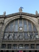 picture of gare  - Gare Du Nord Train Station in Paris France - JPG