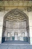stock photo of shiraz  - Alcove in palace in fortress Arg - JPG
