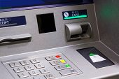 pic of automatic teller machine  - Close up of an ATM machine - JPG