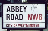 Sinal de Abbey Road