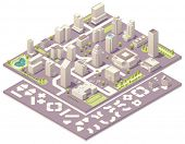 picture of underpass  - Isometric city map creation kit - JPG
