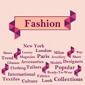 Fashion Text with Keywords - Peach