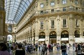 Milan, Lombardy, Italy - May 28: Galleria Vittoria Emanuele II shopping centre. May 28, 2011 in Mila