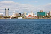 picture of long beach  - Buildings next to an ocean in Long Beach - JPG