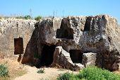 image of burial  - Tombs of the Kings - JPG
