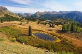 foto of mola  - Molas Pass in the Colorado Mountains - JPG