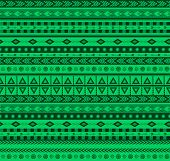 picture of aztec  - green vector seamless pattern with traditional aztec elements - JPG
