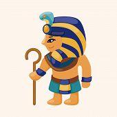 image of pharaoh  - Pharaoh Theme Elements - JPG