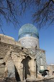 pic of mausoleum  - Mausoleum of Emir Timur  - JPG