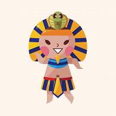 picture of pharaoh  - Pharaoh Theme Elements Vector - JPG