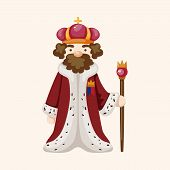 pic of king  - Royal Theme King Elements Vector - JPG