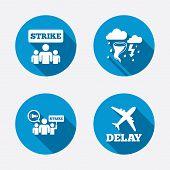 stock photo of striking  - Strike icon - JPG
