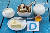 picture of mushroom  - Foods containing vitamin D - JPG
