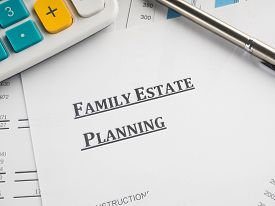 stock photo of family planning  - family estate planning - JPG