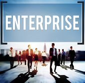 image of enterprise  - Enterprise Company Corporation Business Project Concept - JPG